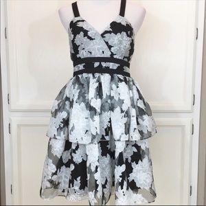 BCBGeneration Floral Party Dress